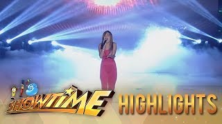 It's Showtime: Janine Berdin performs her first single
