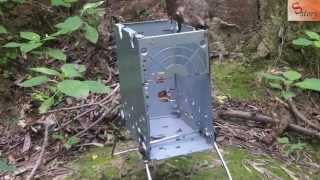 getlinkyoutube.com-Походная печка с блока питания