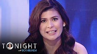 getlinkyoutube.com-TWBA: Roxanne gamely answers Tito Boy's Fast Talk