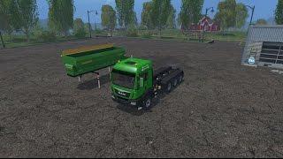getlinkyoutube.com-LS15 -  MAN TGS Agrar 8x8 LkW - Mod Vorstellung