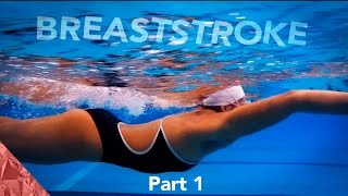 Breaststroke technique swimming tutorial | Arms |  Part 1