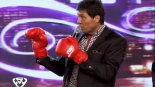 getlinkyoutube.com-Showmatch 2011 - Tito Speranza y Marcelo Tinelli, primer round