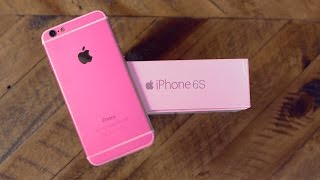 getlinkyoutube.com-iPhone 6S Clone Unboxing! (Rose Gold)