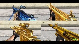 getlinkyoutube.com-Pon Lee : ☆ Test M240B TESLA- P.Baton - Scar U.G - M4X.Gold - M4 Custom U.G ( CFVN 2.0 ) ☆