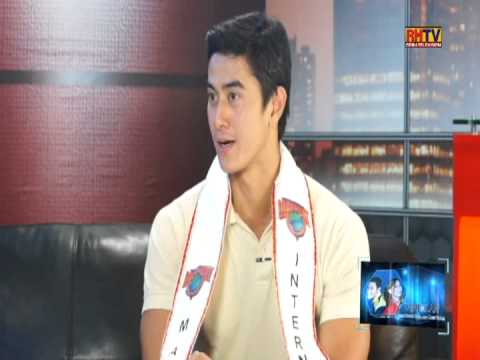 RHTV - Nicole Hyala and Chris Tsuper with 2012 Manhunt International winner June Macasaet