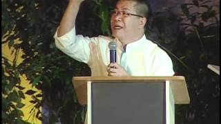 2012-04-04 SM Megamall Lenten Recollection - Fr. Mario Sobrejuanite (talk 1)
