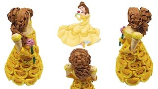 getlinkyoutube.com-Paper Quilled Belle Doll