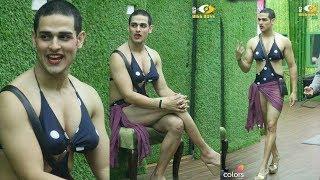 Bigg Boss 11 | Priyank Sharma Wears Hina Khan's Hot BIKINI during LUXURY Budget Task