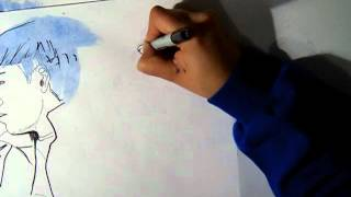 getlinkyoutube.com-2012 BIGBANG COVER - Blue (Drawing)