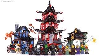getlinkyoutube.com-LEGO Ninjago Temple of Airjitzu review! set 70751