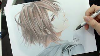 getlinkyoutube.com-Speed Drawing - Shin (Amnesia)