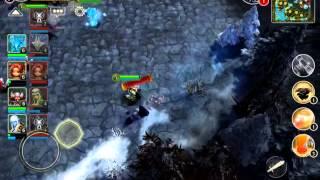 getlinkyoutube.com-Heroes of order and chaos - Kotun(Monkey) New Hero Gameplay 5v5