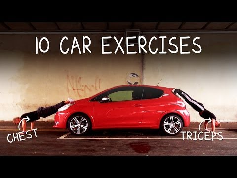 10 Gym Exercises You Can Do With Your Car