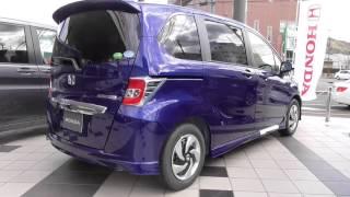 ホンダ・フリードHYBRID 特別仕様車プレミアムエディション(コバルトブルーパール)HONDA FREED HYBRID