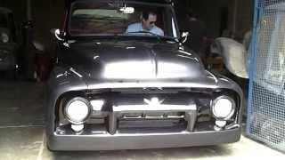 getlinkyoutube.com-1954 Ford F100 V8 302