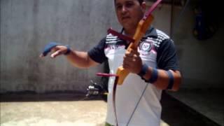 getlinkyoutube.com-testando arco caseiro feito com mola de combi p pesca .rvs