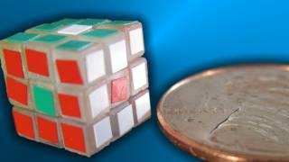 getlinkyoutube.com-World's Smallest Rubik's Cube!! -- Elemental Cube Unboxing