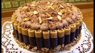 getlinkyoutube.com-Schokolade Sahnetorte