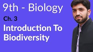 Introduction to Biodiversity Biology - Biology Chapter 3 Biodiversity  - 9th Class width=