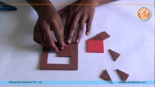 getlinkyoutube.com-Make a model to prove Pythagoras Theorem | Math Projects | Butterfly Fields