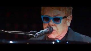 getlinkyoutube.com-Ed Sheeran and Elton John - Don't go breaking my heart (Live At Wembley Stadium 2015)