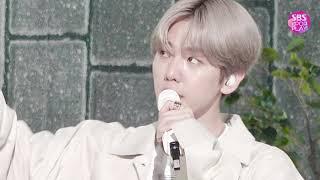[페이스캠4K] 백현 'UN Village' (BAEKHYUN FaceCam)│@SBS Inkigayo 2019.7.14