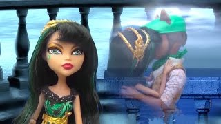 getlinkyoutube.com-Cleo's Secret with MH Toys and Dolls - Monster High Doll Videos Compilation