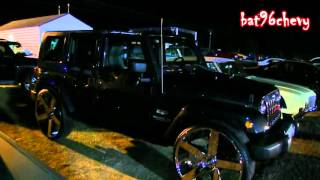 "getlinkyoutube.com-Jeep Wrangler Unlimited Sahara on 30"" DUB Ballers, 5th Wheel DUB Baller! - 1080p HD"