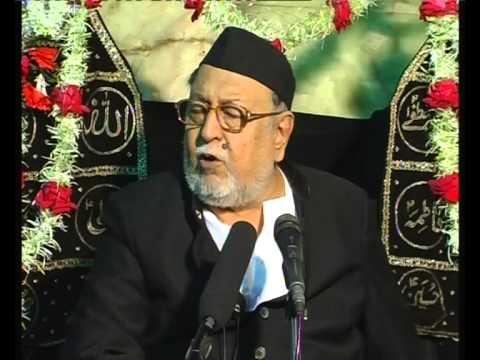 Maulana Mirza Mohammed Athar, Majlis 7, Mahe Moharram 2012/2013, Venue = Mogul Masjid (Mumbai)