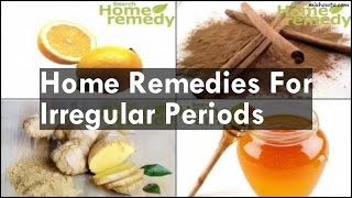 getlinkyoutube.com-Home Remedies For Irregular Periods