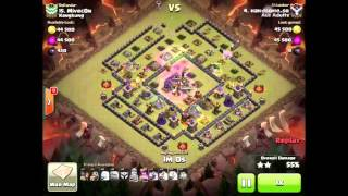 getlinkyoutube.com-Clash of Clans - TH10 3 Star War Attacks #006 - Aus Adults - Queen Walk, Lavaloon, Hogs and Witches
