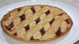 getlinkyoutube.com-كرسطاطا (فطيرة ب المربى)Crostata