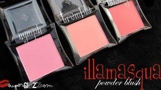 getlinkyoutube.com-[Review] ปัดแก้ม illamasqua powder blusher สี hussy/tremble