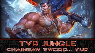 TYR JUNGLE: NO WONDER VARIETY WANTS THIS GOD! - Incon - Smite