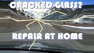 getlinkyoutube.com-Repair a Cracked Windshield AT HOME!