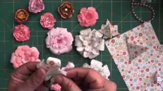 getlinkyoutube.com-Paper flowers