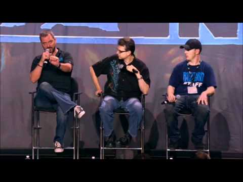 BlizzCon 2011 - World Of Warcraft: Mists of Pandaria - Lore and Story Panel (Full)