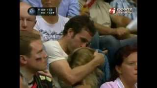 getlinkyoutube.com-Girl Caught Giving A Blow job On TV During Volleyball Match!