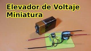 getlinkyoutube.com-Elevador de Voltaje Miniatura