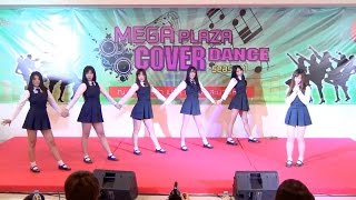 getlinkyoutube.com-160220 Be-Bright cover GFRIEND (여자친구) - Intro + ROUGH (시간을 달려서) @Mega Plaza Cover Dance (Audition)