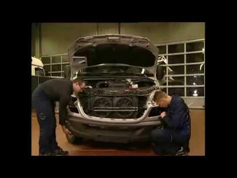 Замена форсунки омывателя фар Mercedes-Benz W906 SPRINTER