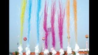 getlinkyoutube.com-Biggest daylight fireworks in the world
