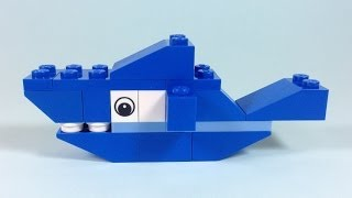 How To Build Lego SHARK - 4628 LEGO® Fun with Bricks Building Ideas for Kids