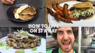 getlinkyoutube.com-How To Live On $3 a Day | One Dollar Meals | Day One |