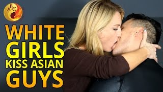 getlinkyoutube.com-White Girls Kiss Asian Guys For The First Time on Valentine's Day (AMWF) | 白人女生第一次吻亚洲男生 | 화이트 여성 한국