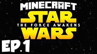 getlinkyoutube.com-Star Wars: The Force Awakens Ep.1 - HUNTING EWOKS (Minecraft Modded Survival)