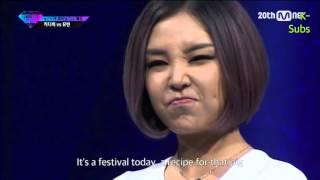 getlinkyoutube.com-[ENG SUB] KittiB vs Yubin Diss Rap Battle