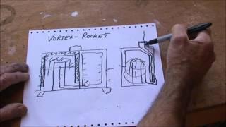 getlinkyoutube.com-V Rocket stove room and water heater.