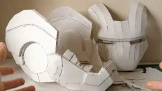 getlinkyoutube.com-Iron Man helmet Pepakura tutorial Part 1  (software, scaling, printing and building)