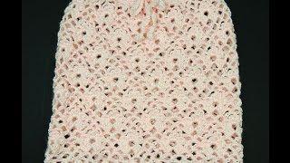 getlinkyoutube.com-Crochet: Falda Angela (Para niñas de 2 años)